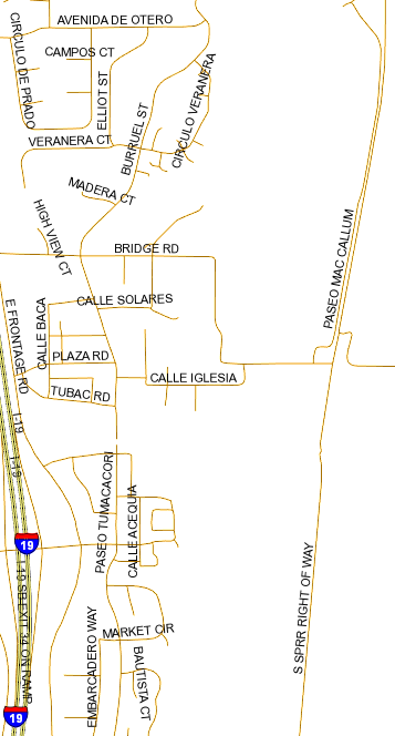 santa cruz parcel map Santa Cruz County Zoning Map santa cruz parcel map